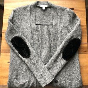 NWOT Loft Gray Cardigan